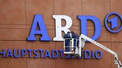 ARD-Studio mit Graffiti beschmiert – so niederträchtig feiern die