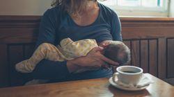 Stillende Mutter soll sich bedecken - ihre Reaktion geht jetzt um die
