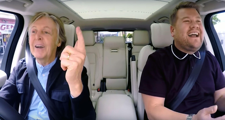 Paul McCartney's Carpool Karaoke Coming Back As Prime-Time