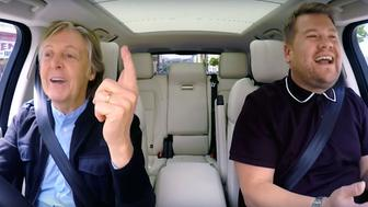 CBS will broadcast a primetime special of Paul McCartney and James Corden in Carpool Karaoke