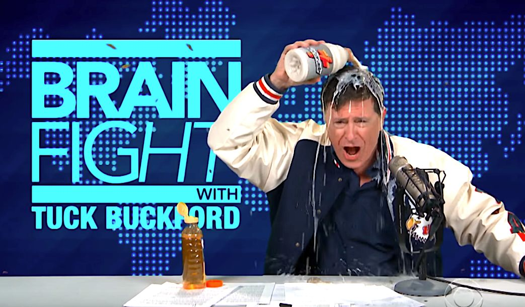 Stephen Colbert's Spoof Alex Jones-Esque Character Is Also Getting Banned