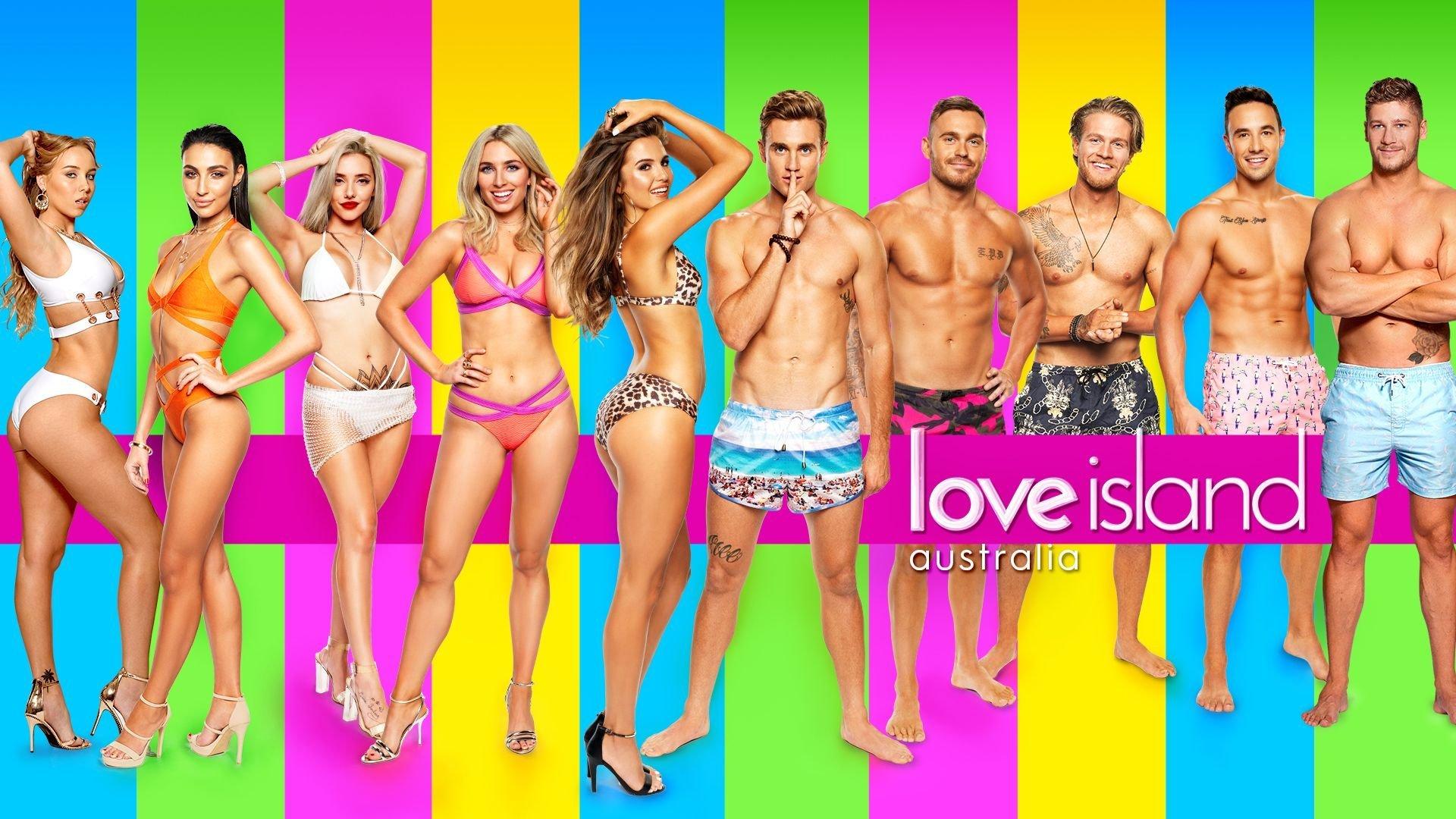 The opening 'Love Island Australia'