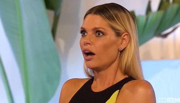 Host Sophie Monk is the Aussie