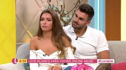 Love Island's Adam And Zara Send Defiant Message To Online