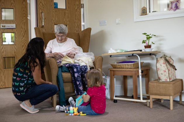 This NCT Group Meet At A Care Home To Help Tackle Elderly
