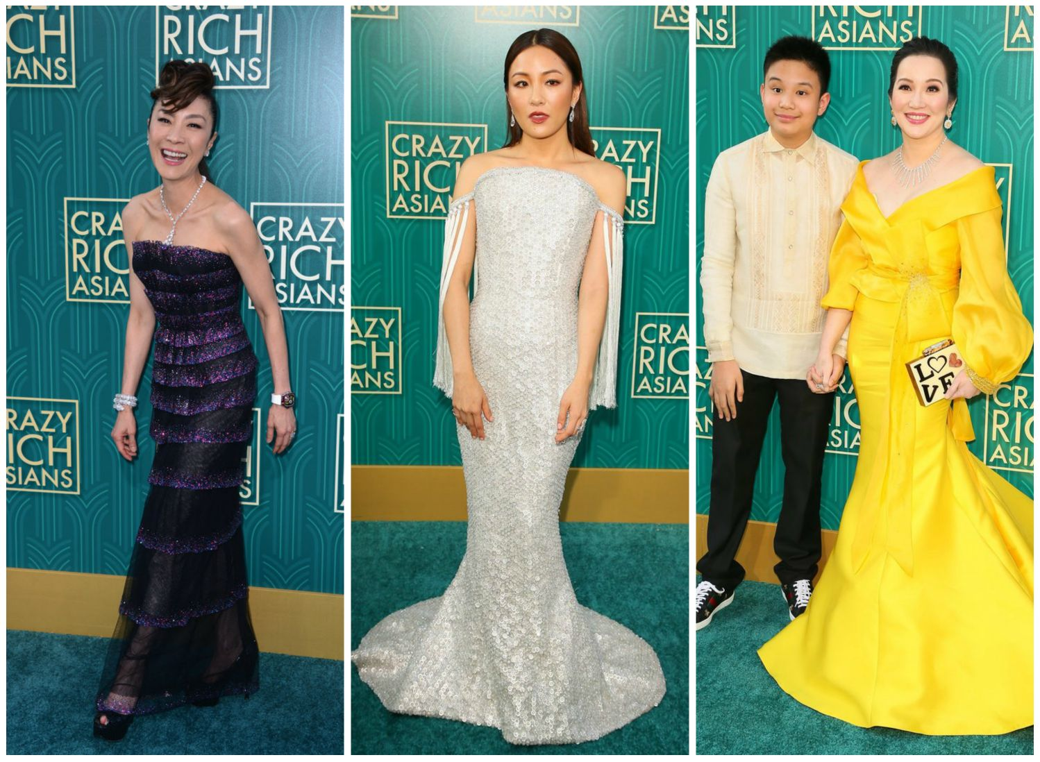 The Best And Most Lavish Looks From The 'Crazy Rich Asians'