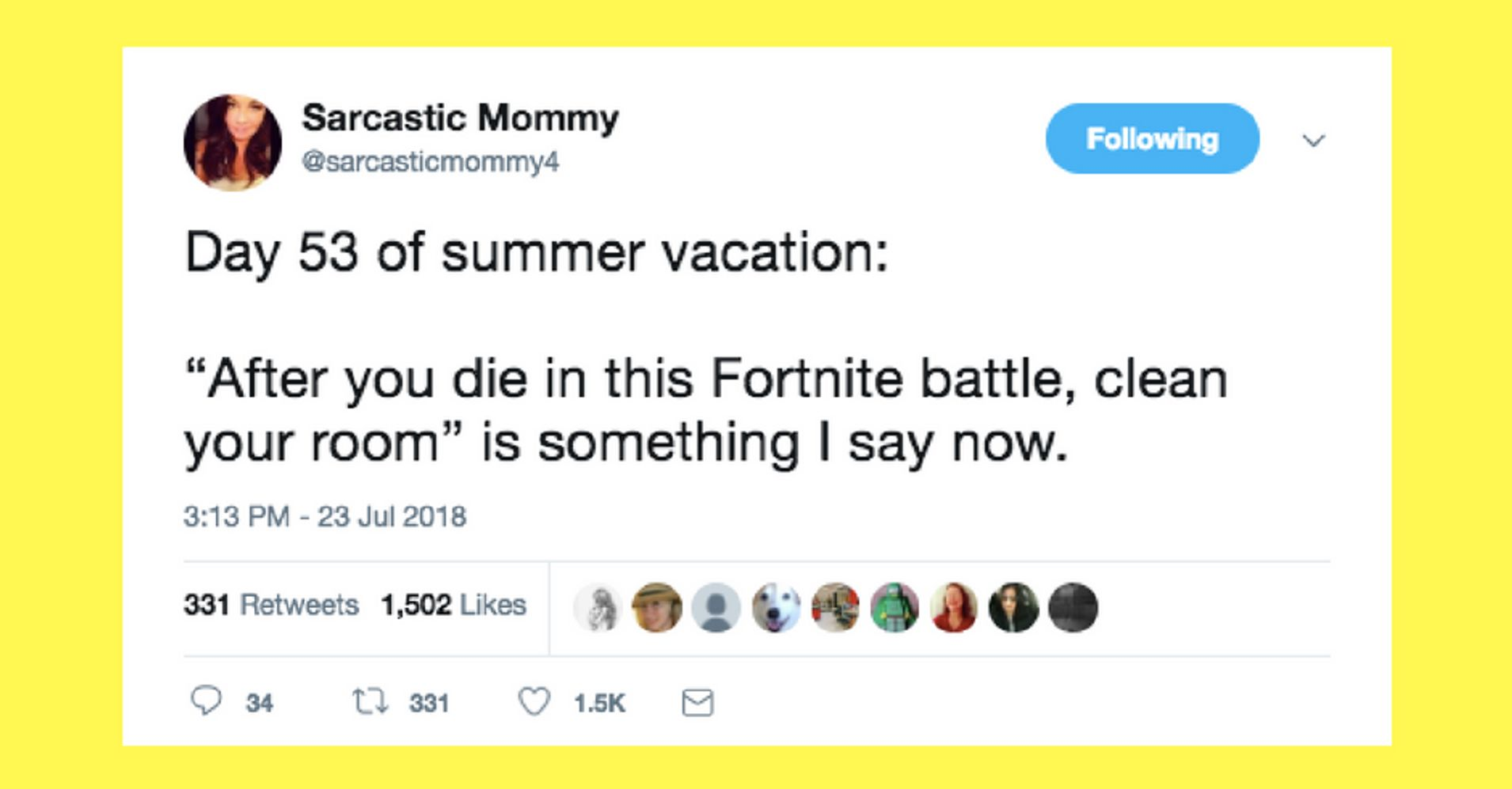 13 Tweets About Fortnite From Parents Who Ve Been There Huffpost