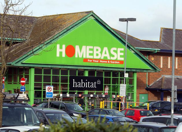 A general view of a Homebase store in Guildford, Surrey. The chain is set to offload 60 stores in a bid...