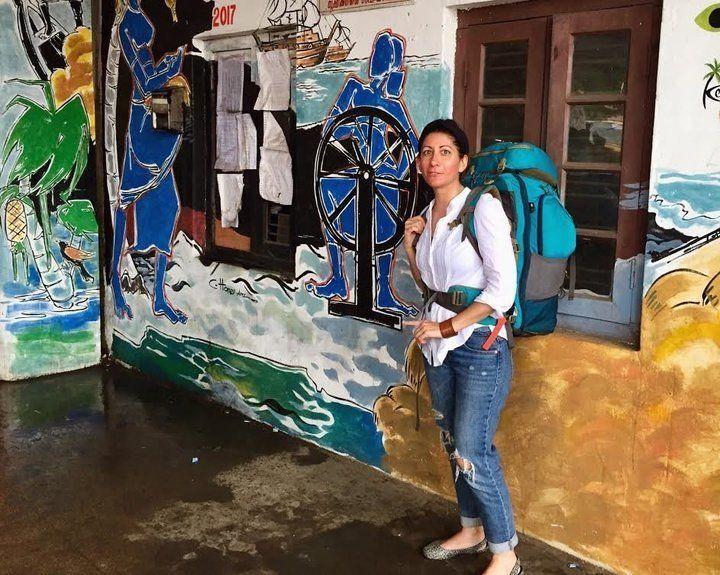 Kristin Amico in Indien
