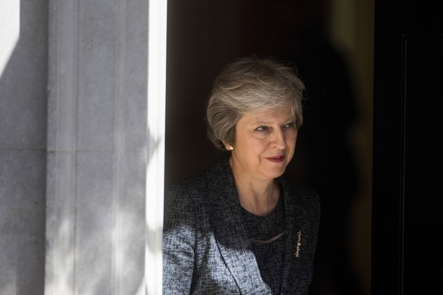 Theresa May leaves number 10 Downing