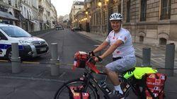 Un Marocain fait Paris-Rabat à vélo pour sensibiliser sur la situation des