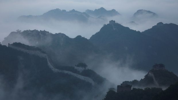 "Early morning fog covers the Jiankou section of the Great Wall, located in Huairou District, north of Beijing, China, June 7, 2017.  REUTERS/Damir Sagolj  SEARCH ""SAGOLJ GREAT WALL"" FOR THIS STORY. SEARCH ""WIDER IMAGE"" FOR ALL STORIES. TPX IMAGES OF THE DAY."