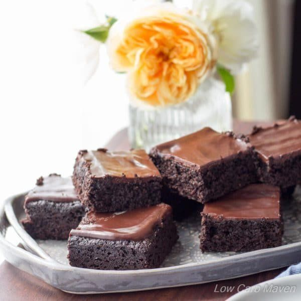 "<strong>Get the <a href=""https://www.lowcarbmaven.com/fudgy-keto-brownies/"" target=""_blank"">Martina's Amazing Fudgy Ket"