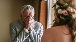 33 photos de parents émotifs en voyant leur fille en