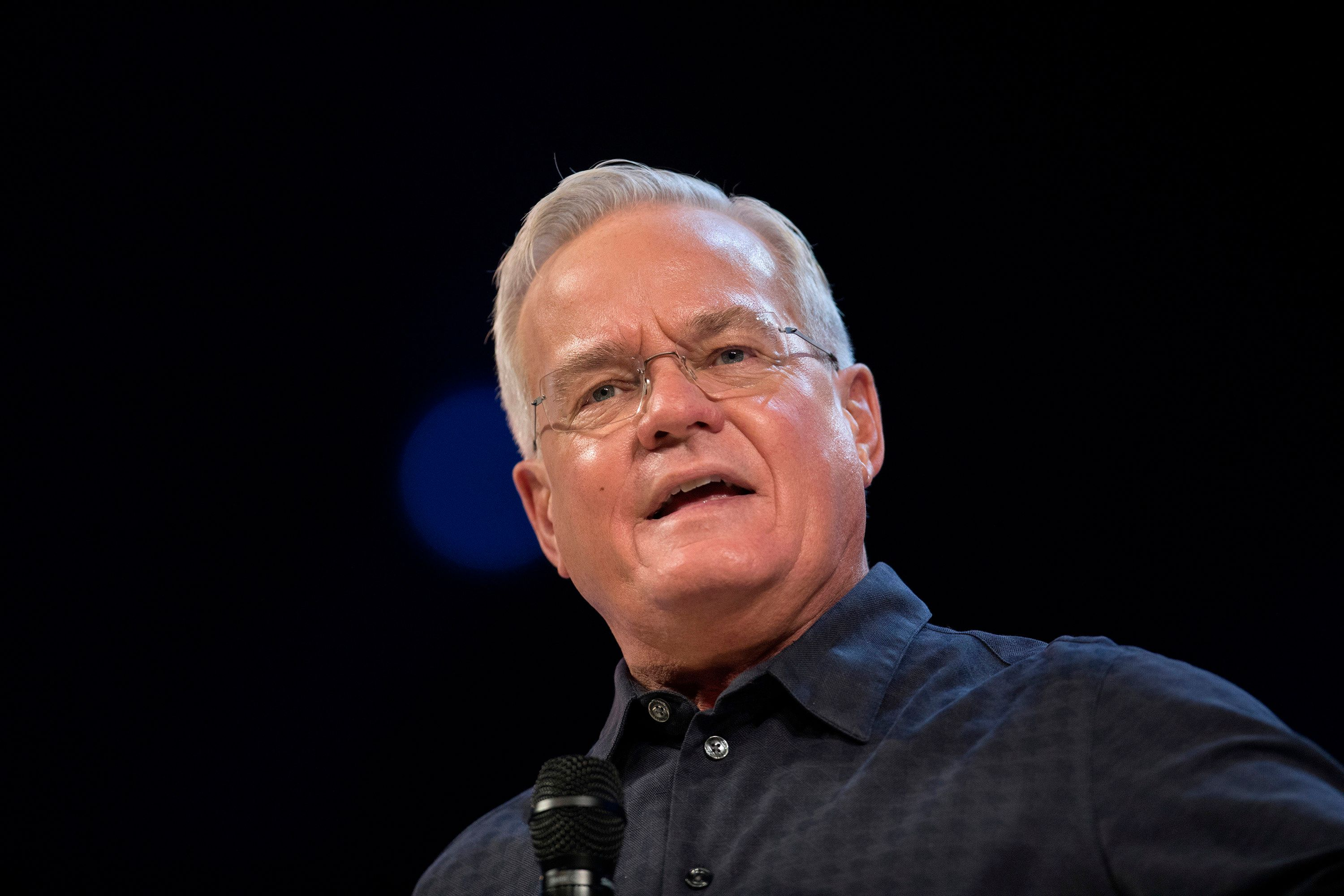 "Bill Hybels, founder of Willow Creek Community Church, stepped down from leadership of the church <a href=""https://www.huffin"
