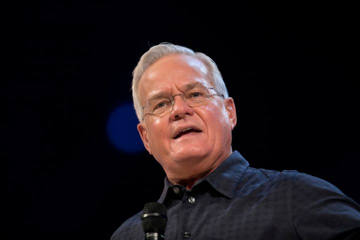 "Bill Hybels, founder of Willow Creek Community Church, stepped down from leadership of the church <a href=""https://www.huffpo"