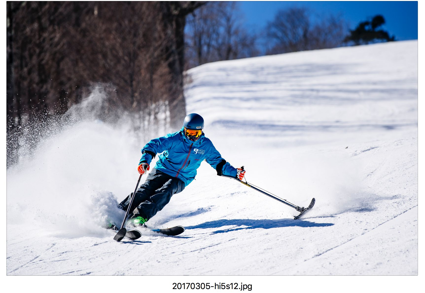 High Fives founder Roy Tuscany is an avid adaptive skier.