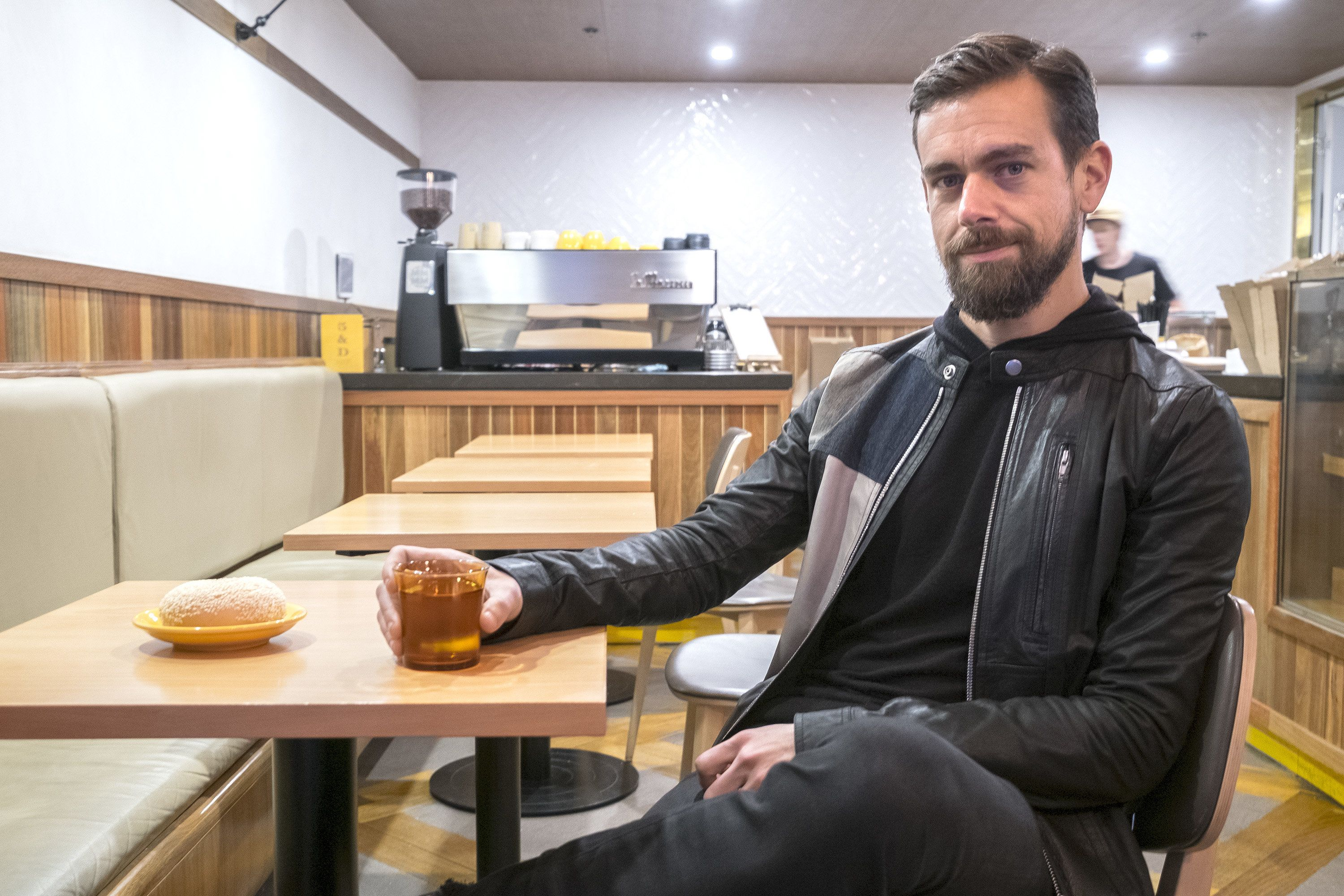 Twitter CEO Jack Dorsey, pictured in 2016, raised eyebrows Wednesday by going on Sean Hannity's radio show.