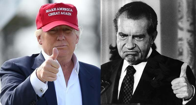 Image result for ​nixon trump