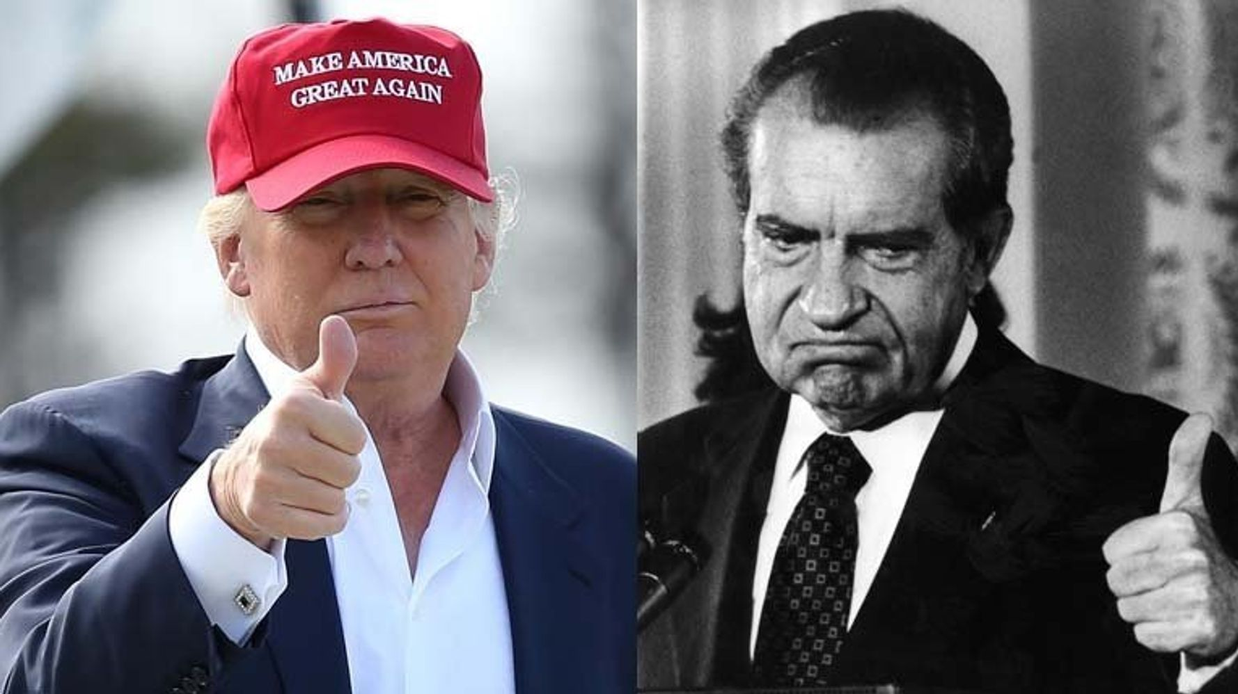 President Donald Trump Plans Event With Eerie Parallel To Nixon's Most Infamous Watergate Speech
