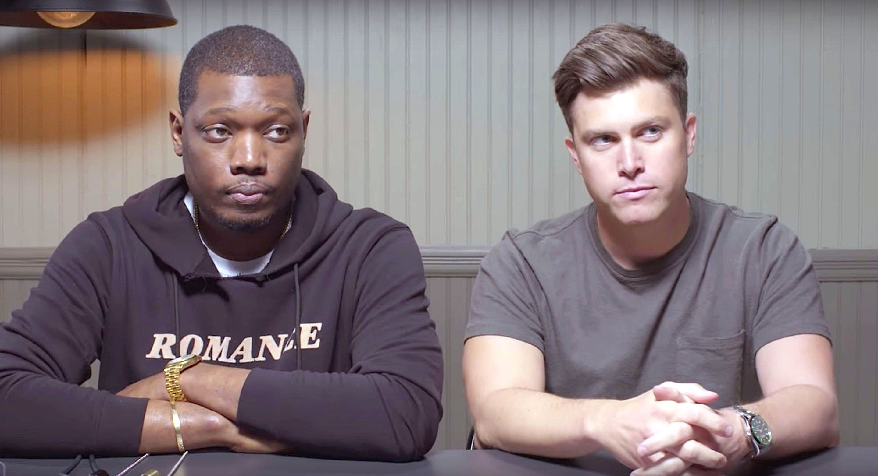 Michael Che and Colin Jost of Saturday Night Live take a lie detector test