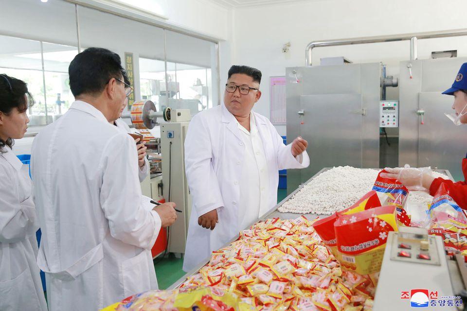 [화보] 북한 김정은 위원장,