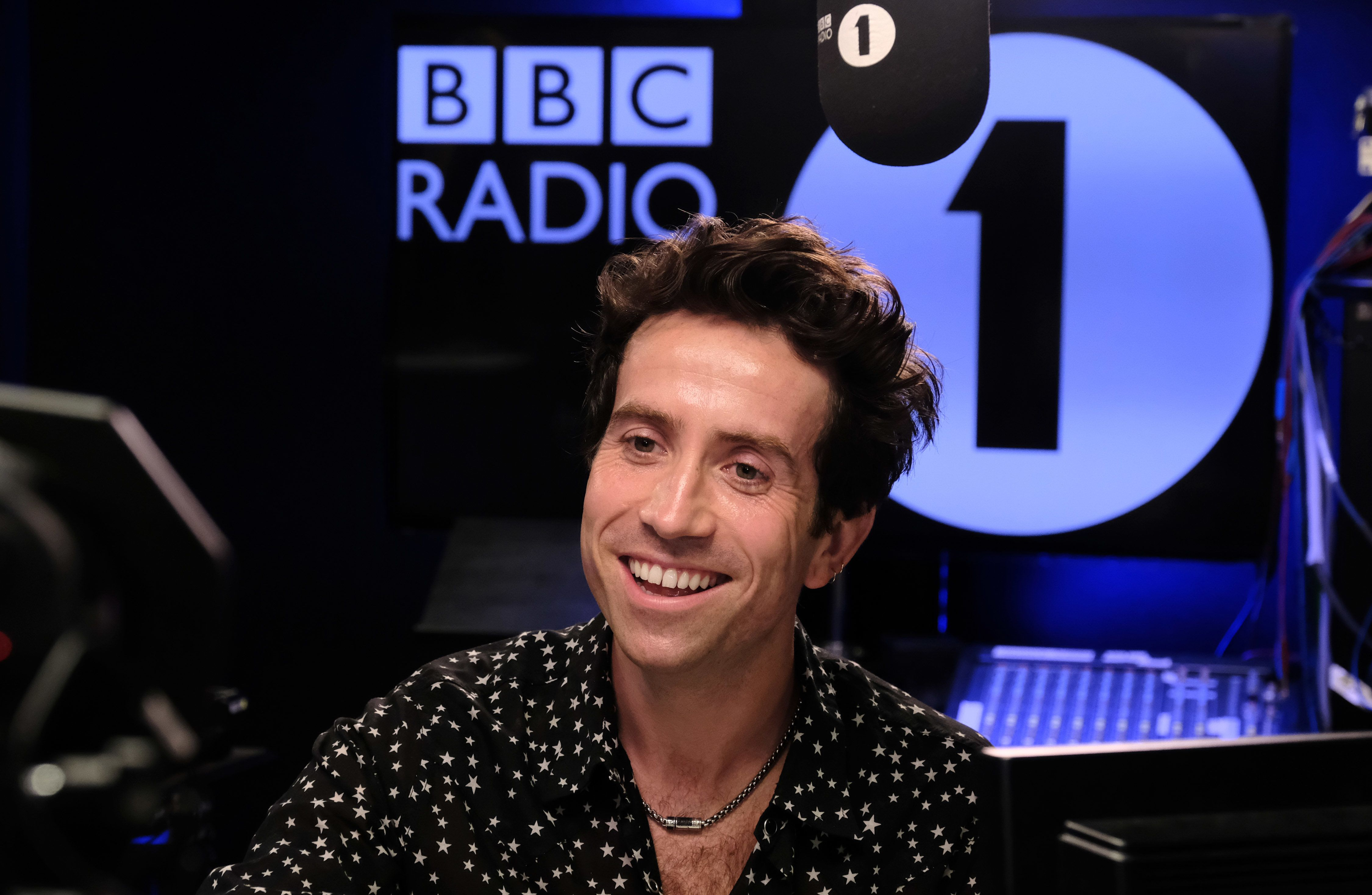 Grimmy in the studio on his last