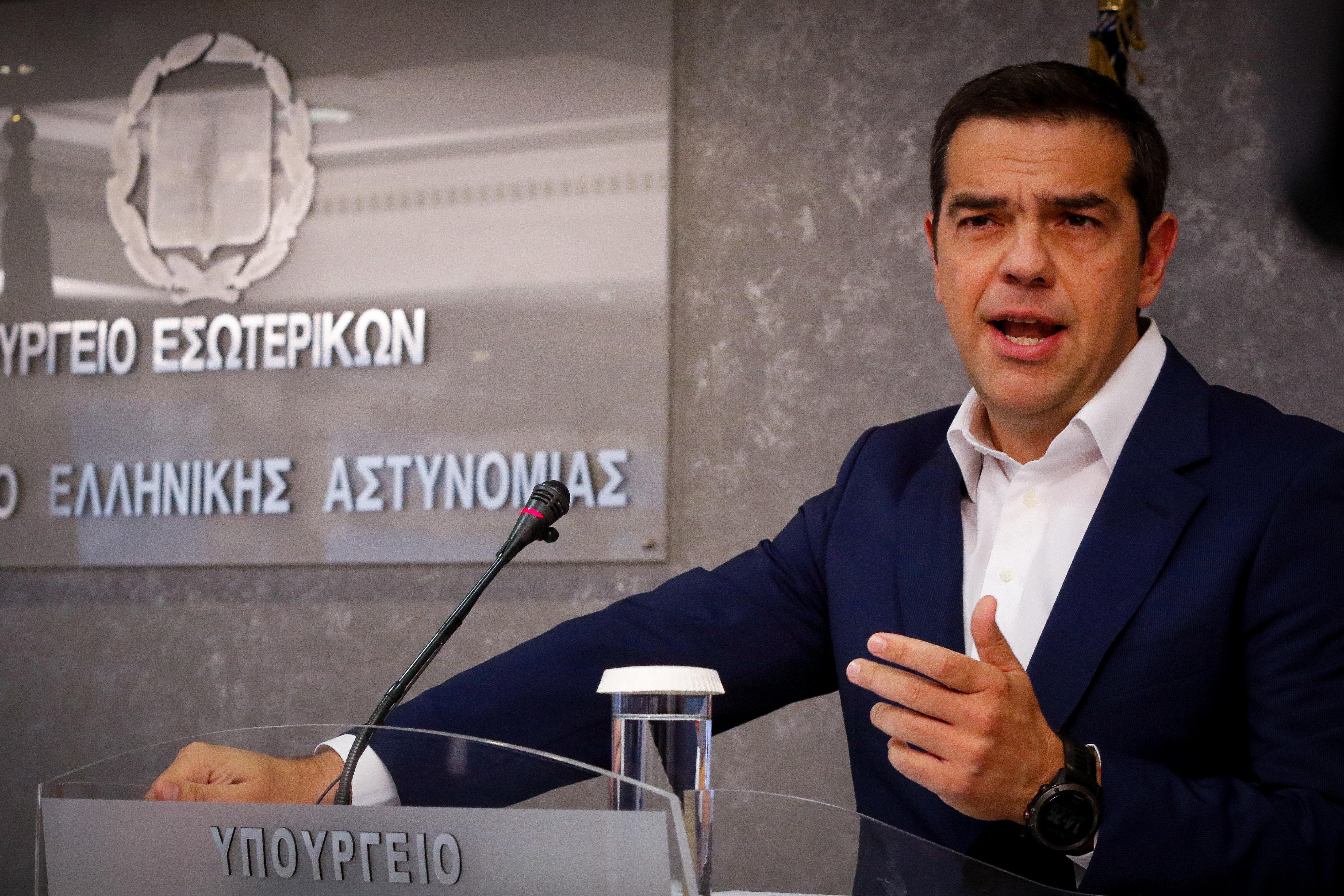Τον νέο θεσμό για την Πολιτική Προστασία ανακοίνωσε ο Αλέξης Τσίπρας
