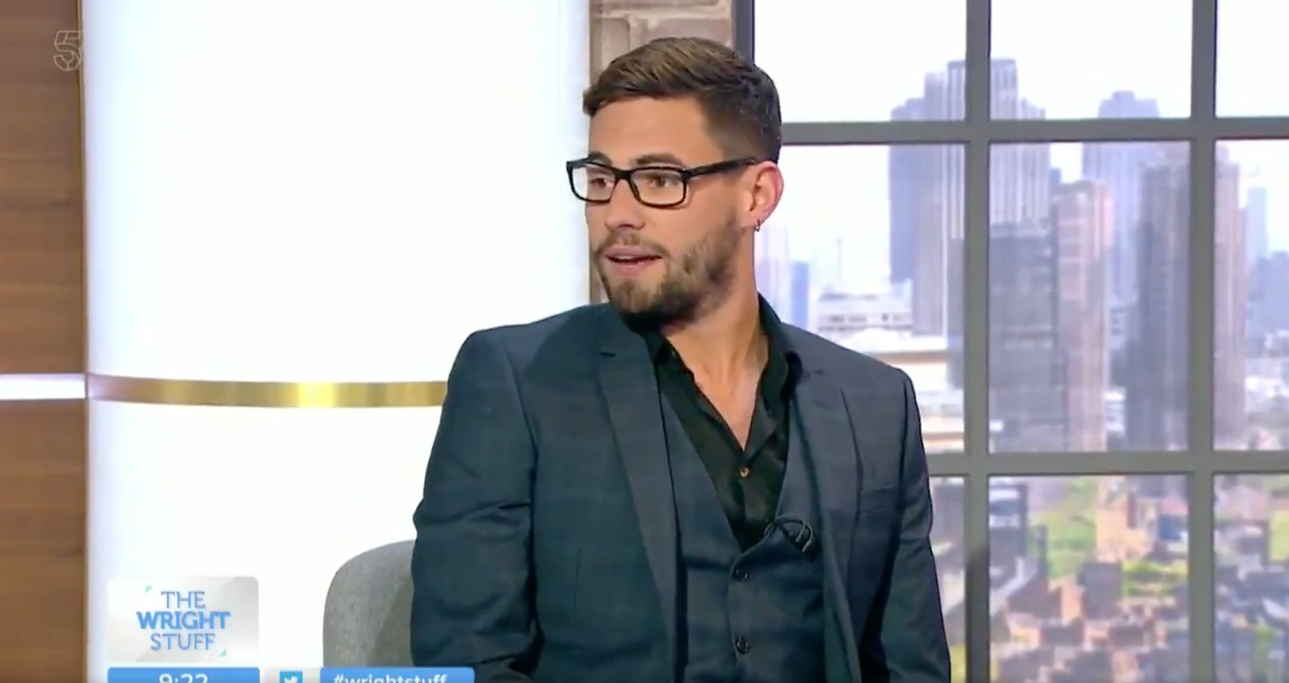 Andrew Brady Boastfully Dodges Caroline Flack Question During 'The Wright Stuff'