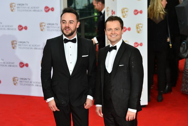 Ant McPartlin with regular co-host Declan