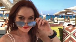 Lindsay Lohan Slammed For #MeToo
