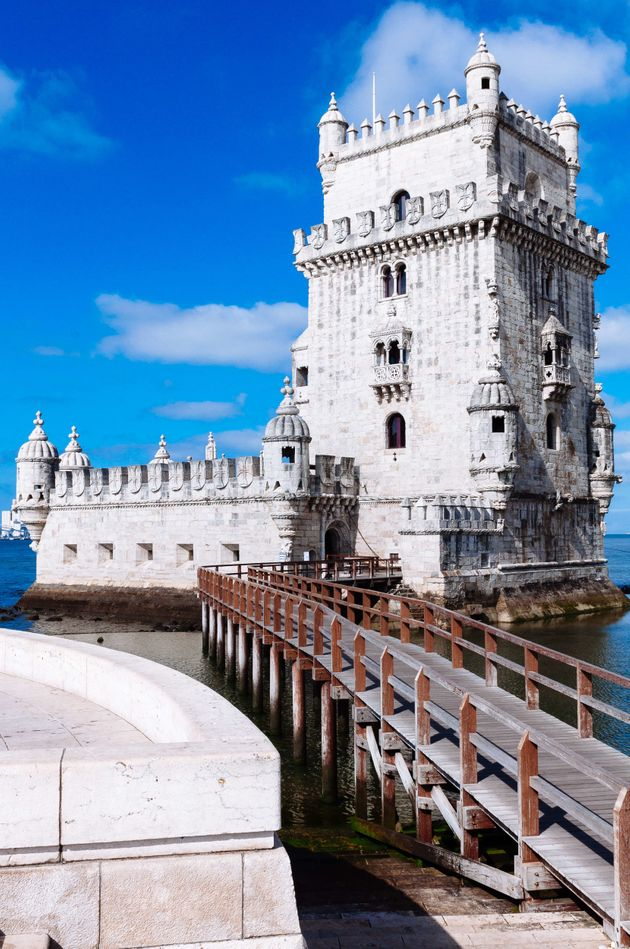 The Tower of Belém attracts many tourists as