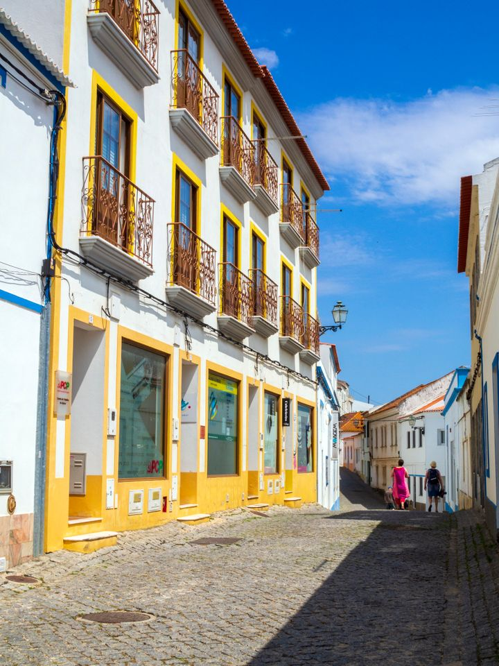 With bright colors like these in Aljezur, it's clear why Portugal is a hit on social media.