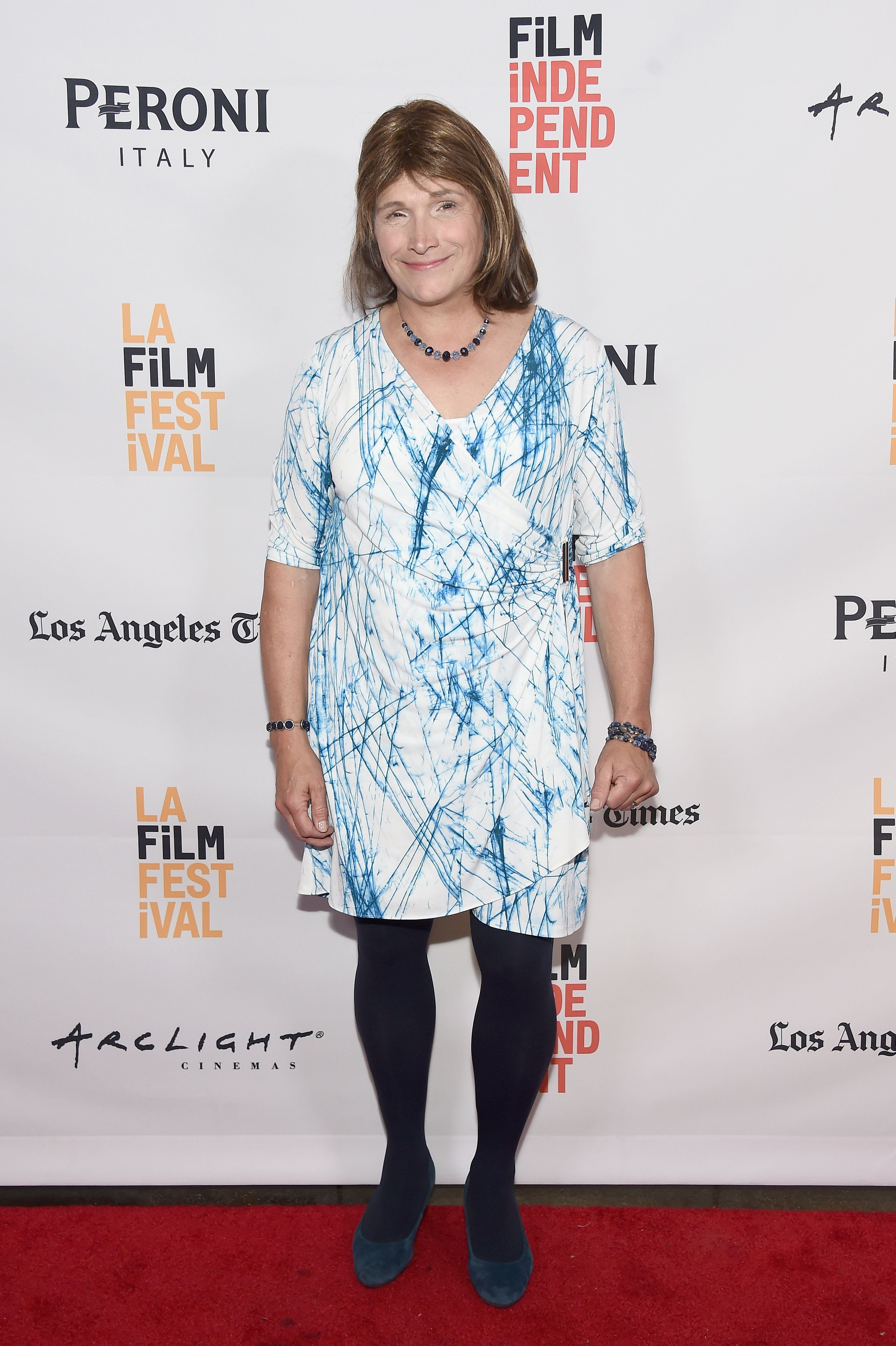 CULVER CITY, CA - JUNE 05:  Christine Hallquist  attends the premiere of 'Denial' during the 2016 Los Angeles Film Festival at Arclight Cinemas Culver City on June 5, 2016 in Culver City, California.  (Photo by Amanda Edwards/WireImage)