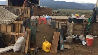 Conditions at a compound in rural New Mexico where 11 children were taken into protective custody for their own health and safety after a raid by authorities, are shown in this photo near Amalia, New Mexico, U.S., provided August 6, 2018.  Taos County Sheriff's Office/Handout via REUTERS  ATTENTION EDITORS - THIS IMAGE WAS PROVIDED BY A THIRD PARTY