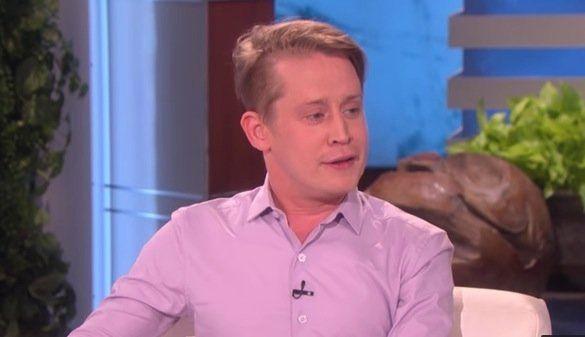 """Macaulay Culkin on """"The Ellen Show."""""""