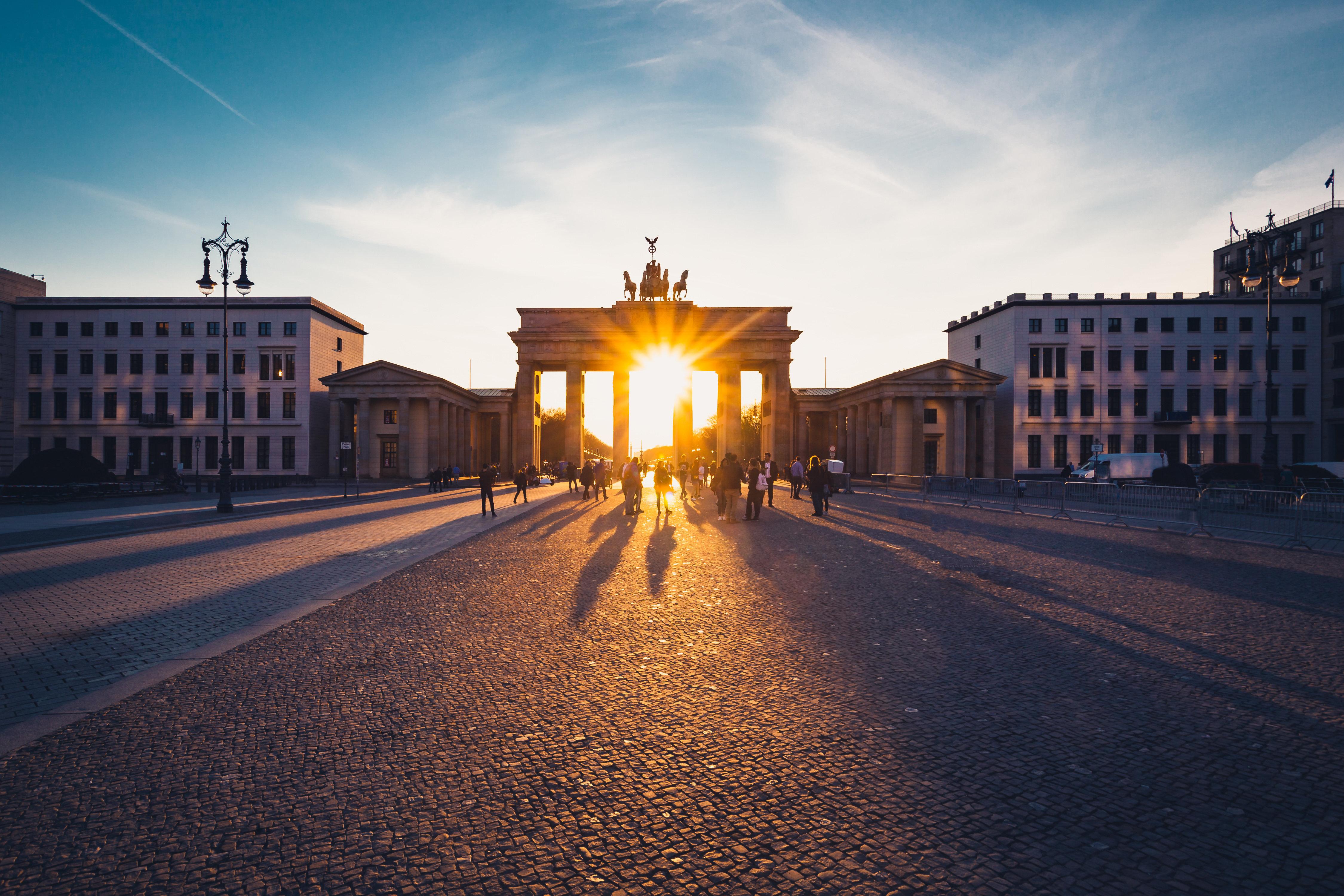 Das Brandenburger Tor im Herzen
