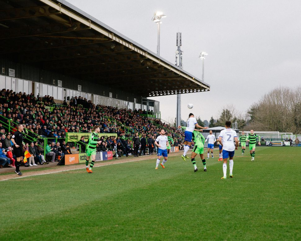 The U.K.'s Forest Green Rovers are the world's first vegan and carbon neutral soccer club.