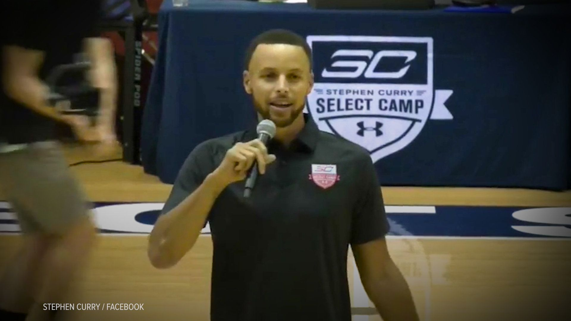 Stephen Curry raised money for Nia Wilsons family