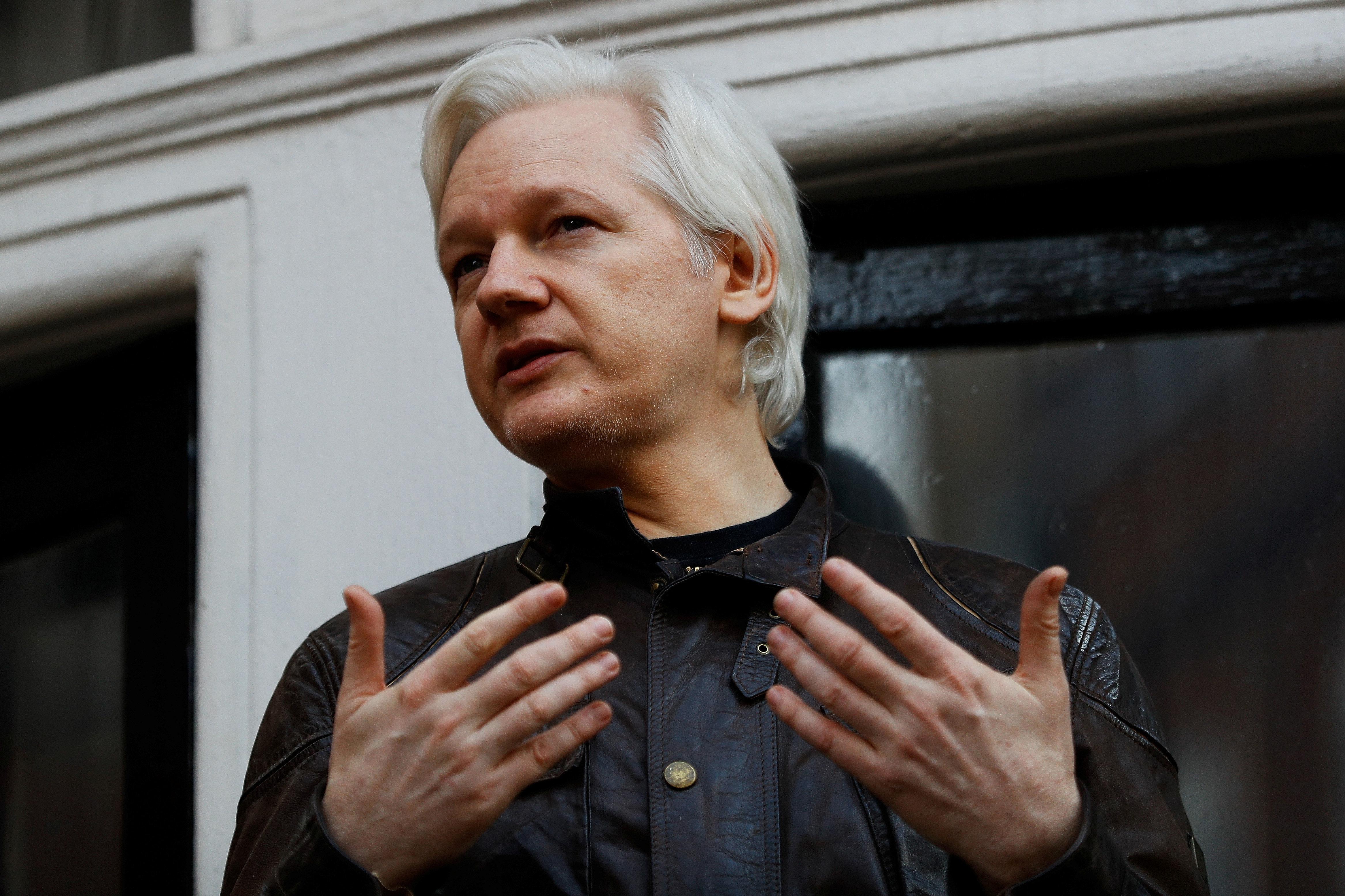 Julian Assange 'Seriously Considering' Testifying Before Senate
