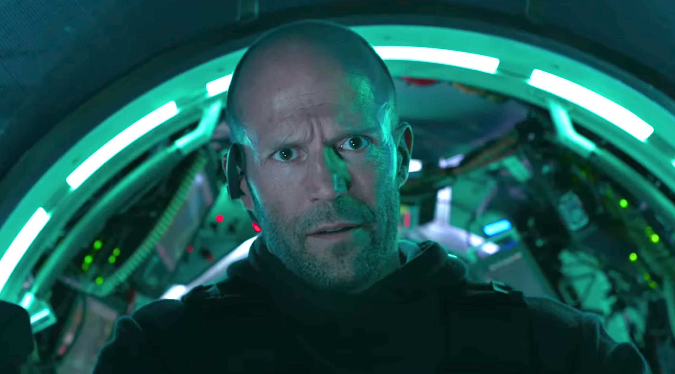 Jason Stathem in The Meg