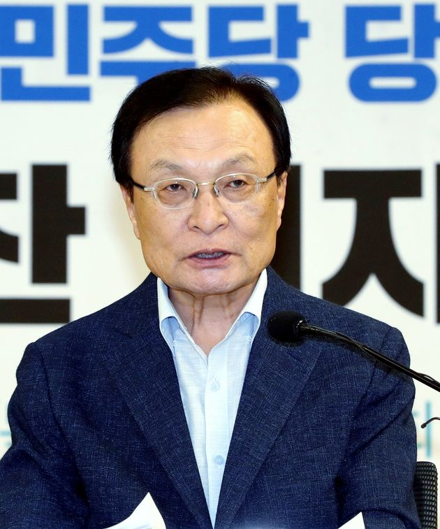 당대표 지지도 1위 이해찬이 '문대통령 하대' 논란에 대해 내놓은