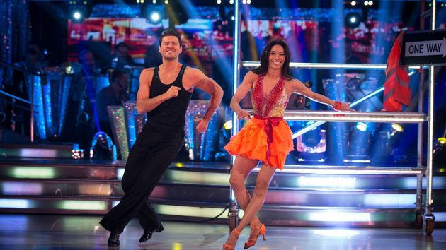 Mark was a contestant on 'Strictly' in