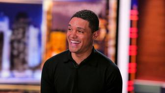 SUNDAY TODAY WITH WILLIE GEIST -- Pictured: Trevor Noah on Thursday June 17, 2018 -- (Photo by: Mike Smith/NBC/NBCU Photo Bank via Getty Images)