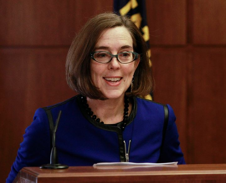 "Oregon Governor Kate Brown said she believes ""each of us is a spiritual being."""