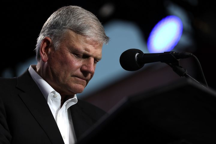 Franklin Graham is the son of the famed evangelist Billy Graham.