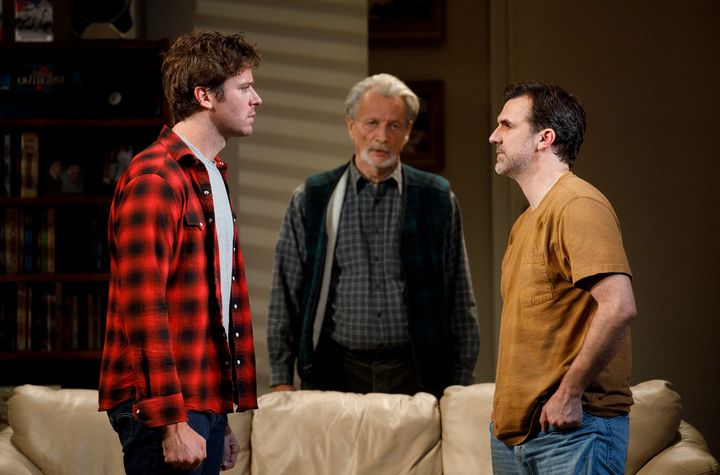 "Of ""Straight White Men"" star Armie Hammer (left), Lee says, ""There's just something about him that reminds me of the im"