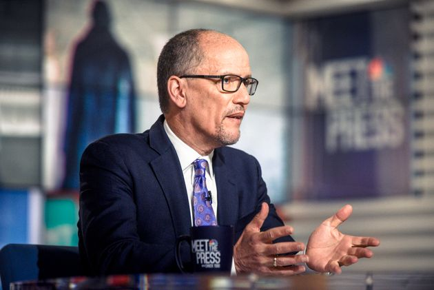 Tom Perez, chair of the Democratic National Committee, introduced the new resolution to