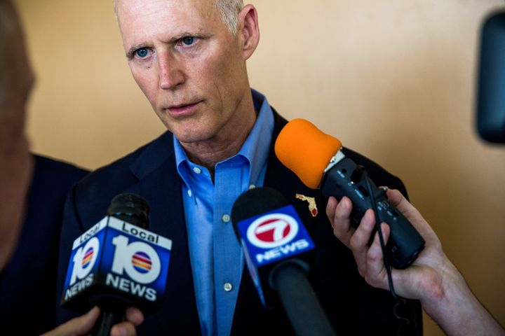 Republican governors like Florida's Rick Scott did everything they could to undermine the Affordable Care Act. If Democrats t