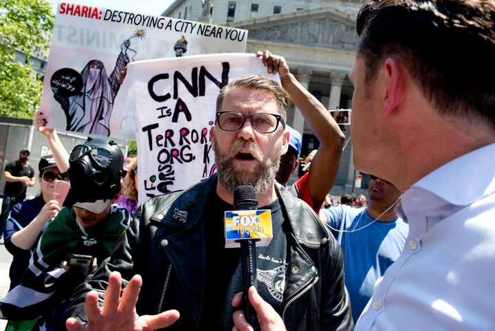 Gavin McInnes is the leader of Proud Boys, a far-right fringe group known for its ties to white supremacy and its penchant fo